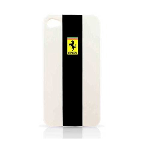 New Official Ferrari Iphone 4/4s Hard Phone Case/cover - Metalic Glossy - Ferrari New