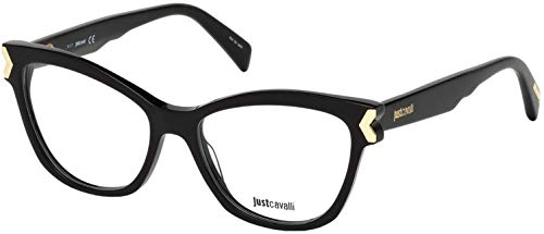 JUST CAVALLI Eyeglasses JC0807 001 Shiny
