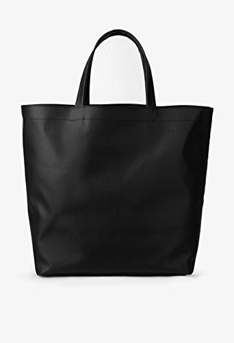 BREE - Bolso de asas para mujer negro negro 34,5 cm x 38 cm x 17 cm (B x H x T) negro
