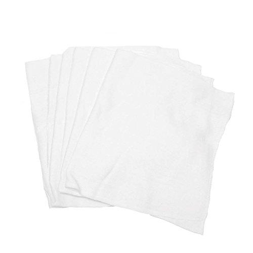 Detailer's Choice 2-66 Short Roll of Diaper Soft Polishing Cloths - 6-Pack