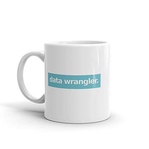 Data Wrangler - Blue Mug 11 Oz White Ceramic (Best Sentiment Analysis Python)