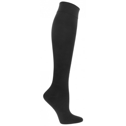 40 Support (Advanced Orthopaedics Men's Compression Support Socks 30-40 mmHg (Large, Black))
