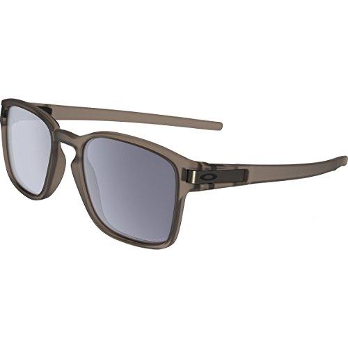 Oakley Men's Latch Squared Polarized Rectangular Sunglasses, Matte Sepia, 52 - Sunglasses Amazon Oakley