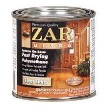 Zar Interior Polyurethane (ZAR Ultra Interior Oil-Based Polyurethane, Gloss, Half-Pint)