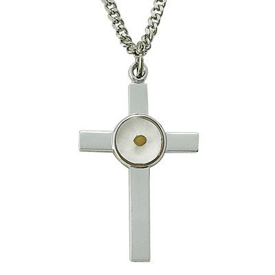 TrueFaithJewelry Sterling Silver 1 1/4