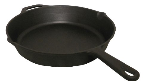 King Kooker CIFP12S Pre-seasoned Cast Iron Skillet, 12-Inch