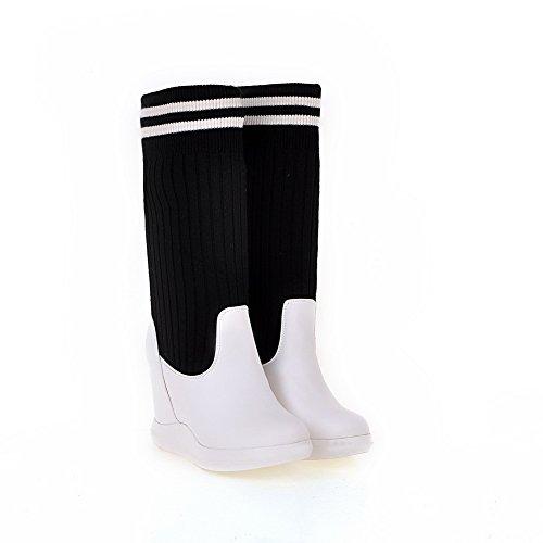 Balamasaabl09482 - Sandales Compensées Pour Femmes, Blanc (blanc), 35 Eu