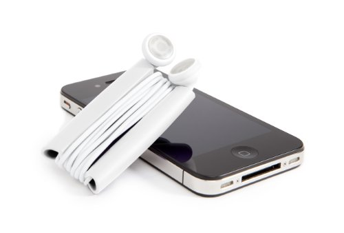 Quirky Wrapster Cord Management Solution for Headphones (PWRP3-WH01)