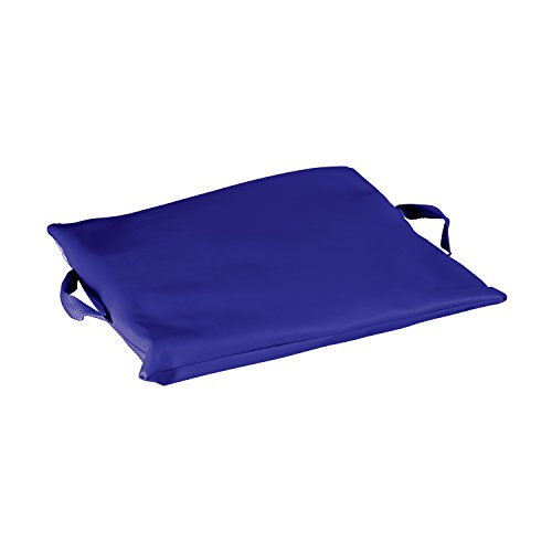 Duro-Med 100%-Gel, Flotation Cushion with Navy Poly/Cotton Cover, Navy