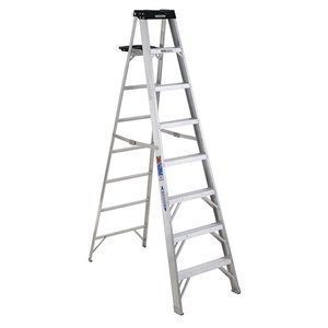 Werner 378 8' Aluminum Step Ladder by Werner Ladder