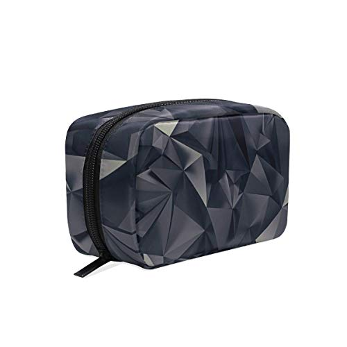 Cosmetic Bag Black Diamond Girls Makeup Organizer Box, used for sale  Delivered anywhere in USA