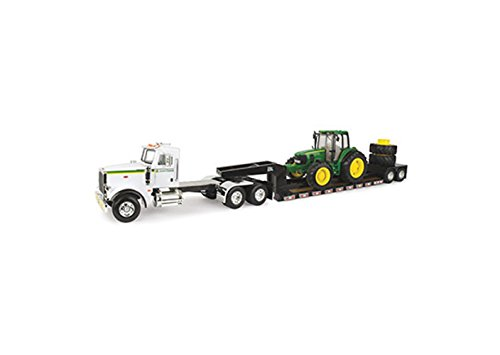 (John Deere 1/16 Big Farm Semi with Tractor)