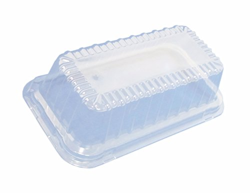 Durable Packaging Plastic Dome Lid for Aluminum Loaf Pan,...