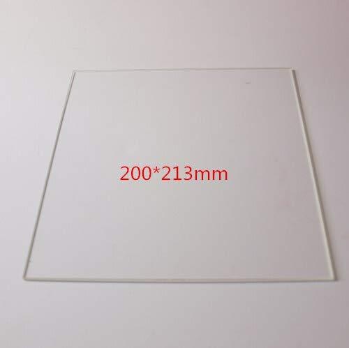 PLUSMINDER1 개 2002133MM 인쇄 유리 테이블에 대한 인쇄 3D 프린터는 난방침대 붕규산 유리판을 직사각형 플레이트(크기:ONE SIDE MATTE)
