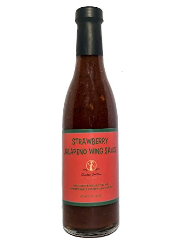 Strawberry Jalapeno Wing Sauce - Blended in Small Batches with Farm Fresh Herbs for Premium Flavor and Zest