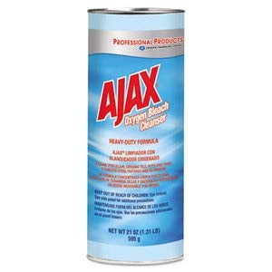 Ajax Oxygen Bleach Powder Cleanser, 21Oz Canister - Bleach Cleanser Oxygen Ajax
