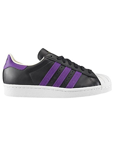 adidas Originals Superstar 80s Mens Trainers Sneakers (UK 8.5 US 9 EU 42 2/3, Black White BB3718) (Adidas Samba Trainer)