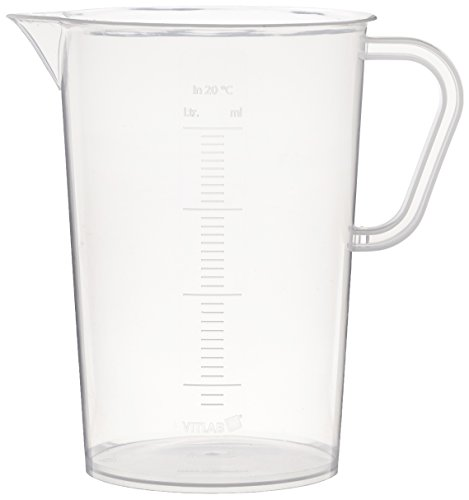 Kaiser 204257 2000ml Graduated Beaker (Black)