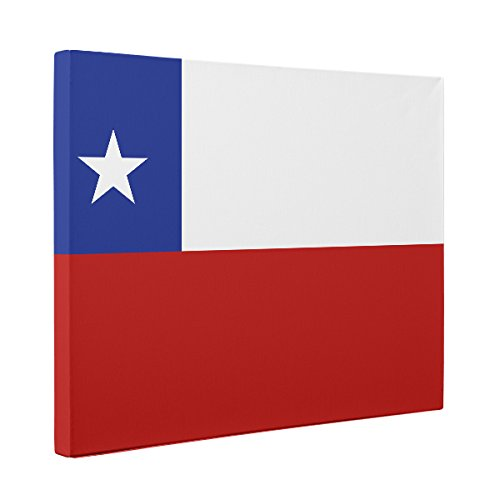Chile Flag CANVAS Wall Art Home Décor