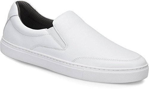 Nurse Mates Foley White Men's Shoes