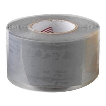 Self-Sealing Silicone Insulation and Repair Tape - Gray - 1inch x 10' (Contractors 10' Saw)
