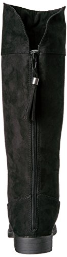 Sugar Girls' Powdered Pull-on Boot, Black Suede, 13 M US Little Kid by Sugar (Image #2)