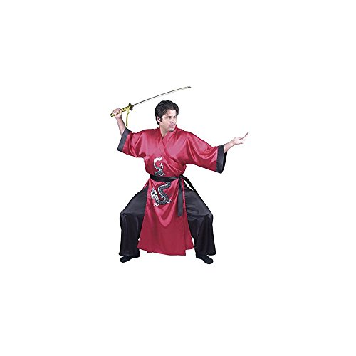 Red Adult Samurai Costume L ()