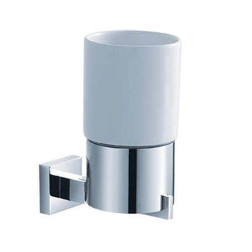 KRAUS KEA-14404CH Aura Bathroom Wall-mounted Ceramic Tumbler Holder