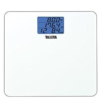 Tanita Digital Glass Bathroom Scales HD-355 in White Brand New In Box Model 355