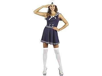 DISONIL Disfraz Marinera Mujer Talla L: Amazon.es: Juguetes y juegos
