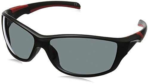 Foster Grant Men's Completion Wrap Sunglasses, Black, 67 - Foster Grant Sunglasses Mens