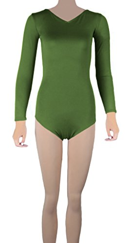Howriis - Body - para mujer Ejercito Verde