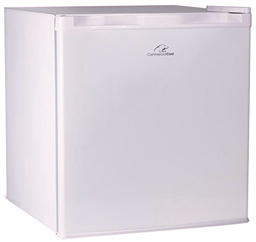 Commercial Cool CCR16W Compact Single Door Refrigerator and Freezer, 1.6 Cu. Ft. Mini Fridge, ()