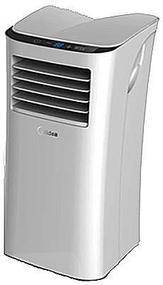 MIDEA AMERICA CORP/IMPORT MPPH-10CRN1-B10 Westpointe S2 Series 10000 BTU Portable Air Conditioner, Cool Only
