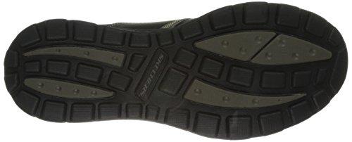 Skechers Superior Bktn da uomo Nero Schwarz nbsp;Levoy Sneakers rr7xfwFq