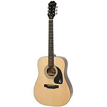 Amazon Com Epiphone Dr 100 Acoustic Guitar Natural Musical