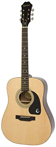 (Epiphone DR-100 Acoustic Guitar, Natural )
