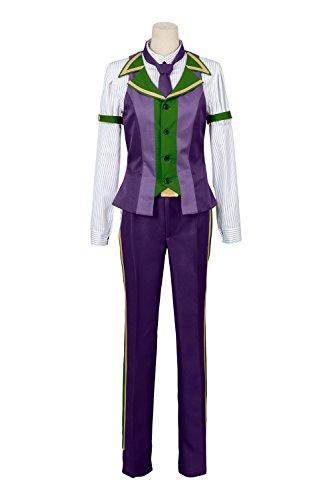 Indian School Uniform Costume (UU-Style Fate Grand Order Protagonist Ritsuka Fujimaru School Uniform Cosplay Costume)