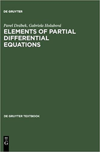 Book By Pavel Drabek Elements of Partial Differential Equations (De Gruyter Textbook)
