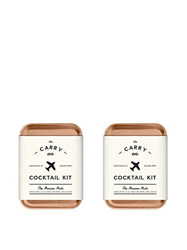 The Carry on Cocktail Kit The Moscow Mule, 2 Piece (Cocktail Gifts)