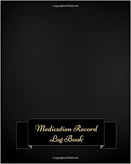 medication record log book undated personal medication checklist