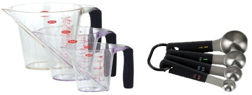 Good Grips 3 Piece Angled Measuring Cup and Spoon Set