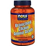 Now Foods Branched Chain Amino Acids - 240 Capsules 3 pack