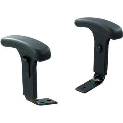 SAFCO 3496BL Adjustable T-Pad Arms for Big and Tall Chairs, Putty