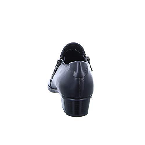 Pumps Schwarz Leder RED Black Damen BOXX A621 A479 STf4I