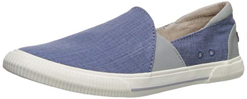 (Roxy Women's Brayden Slip On Sneaker Shoe, Chambray, 6 M US)