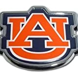 University of Auburn (''AU'') Emblem (w/ Orange ''AU'')