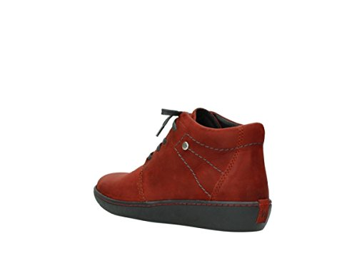 08126 Babylon Boots Ge Leather Womens 50540 ltes Winter Wolky Rot Leder 5EFIqUaxIw