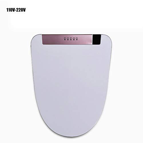 Electric Bidet,Toilets with Remote Control- U Shape V Shape Nightlight Bidet Seats Bath Fixtures,WithRemotecontrol,Vshape