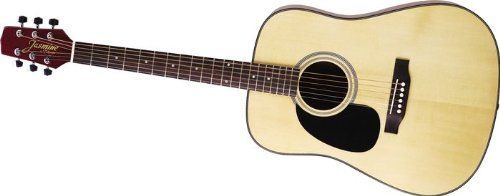 Jasmine by Takamine S33LH Acoustic Guitar Pack, Left (Takamine Jasmine Acoustic)